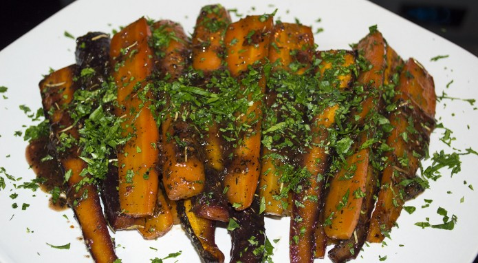 honey dijon carrots