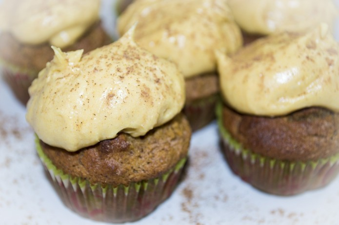 Gluten Free Spiced Cupcakes